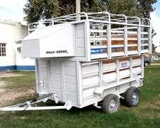Trailer Caballos Fijo Tcf (arrastre) Cf 3000