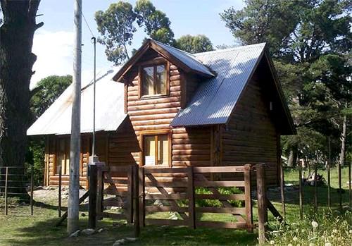 Construccion de caba as en madera casa de troncos - Construccion de cabanas de madera ...