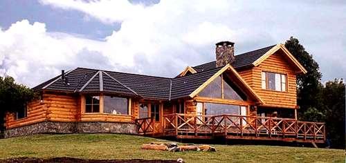 Construccion De Cabañas En Madera Casa De Troncos - Necochea
