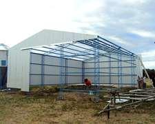 Construcci n agroads for Construccion de galpones
