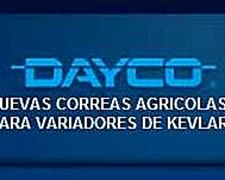 Nuevas Correas Dayco Para Variadores Agricolas