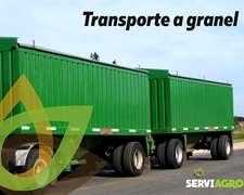 Servicio De Transporte De Granos - Seriedad Y Compromiso