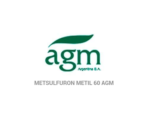 METSULFURON METIL 60 AGM