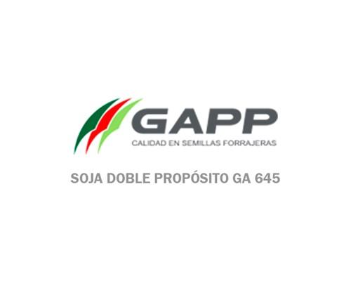 Soja Doble Propósito GA 645